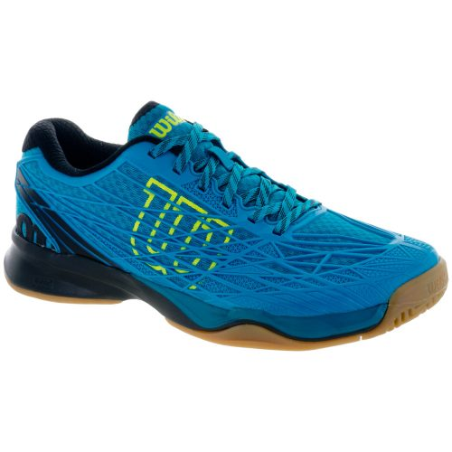 Wilson Kaos Indoor: Wilson Men's Indoor, Squash, Racquetball Shoes Enamel Blue/Black