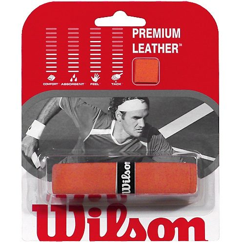 Wilson Premium Leather Replacement Grip: Wilson Tennis Replacet Grips