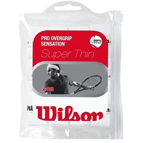 Wilson Pro Overgrip Sensation 12 Pack: Wilson Tennis Overgrips