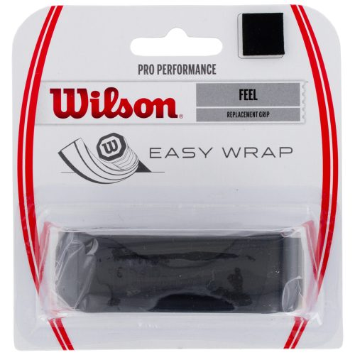 Wilson Pro performance Replacement Grip Black: Wilson Tennis Overgrips