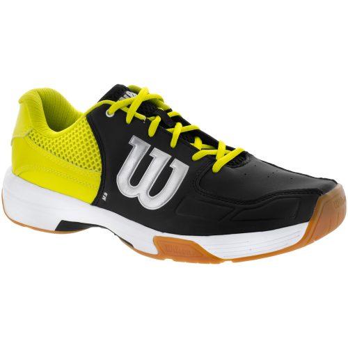Wilson Recon: Wilson Men's Indoor, Squash, Racquetball Shoes Black/Sulphur