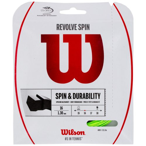 Wilson Revolve Spin 16: Wilson Tennis String Packages