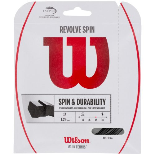 Wilson Revolve Spin 17: Wilson Tennis String Packages