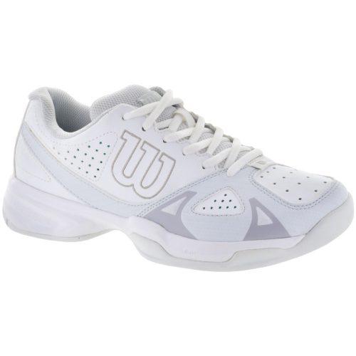 Wilson Rush Open 2.0: Wilson Women's Tennis Shoes White/Ice Gray/Steel Gray
