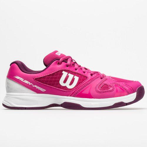 Wilson Rush Pro 2.5 Junior Very Berry/White/Dark Purple: Wilson Junior Tennis Shoes