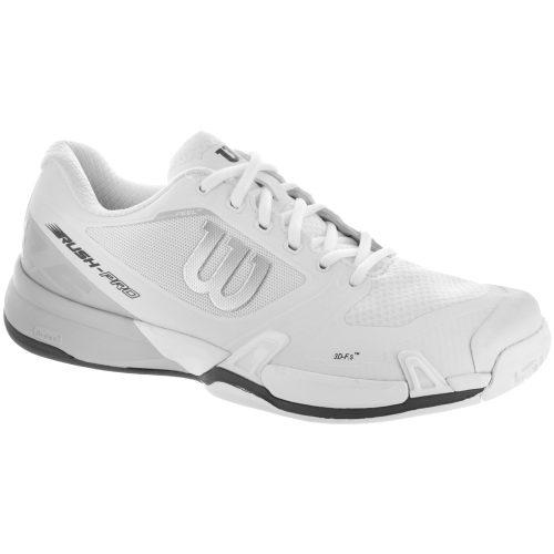 Wilson Rush Pro 2.5: Wilson Men's Tennis Shoes White/Pearl Blue/Iron Gate