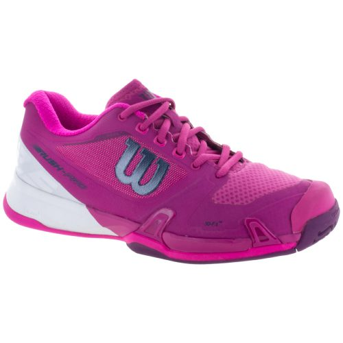 Wilson Rush Pro 2.5: Wilson Women's Tennis Shoes Very Berry/White/Pink Glo