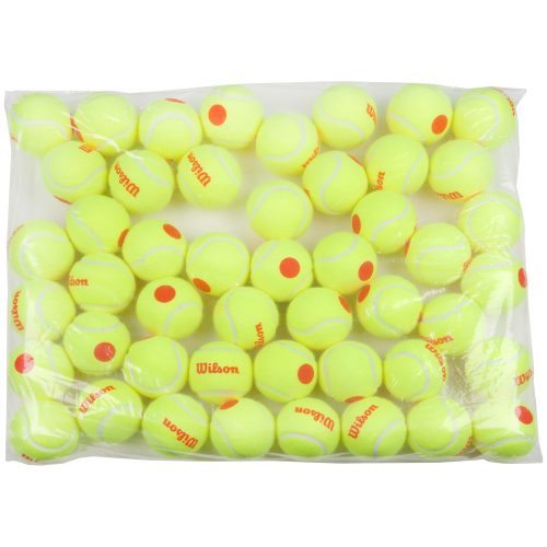 Wilson Starter Orange Tennis Ball Bag of 48 Balls: Wilson Tennis Balls
