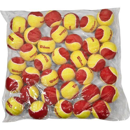Wilson Starter Red Tennis Ball Bag of 36 Balls: Wilson Tennis Balls