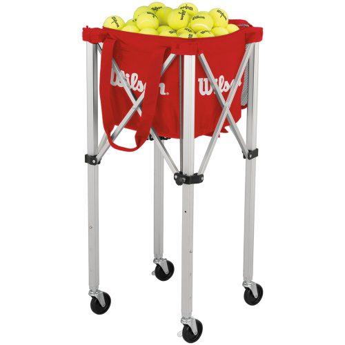 Wilson Tennis Teaching Cart with Red Bag: Wilson Teaching Carts