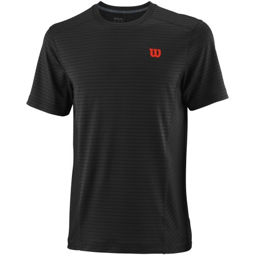 Wilson UWII Linear Crew: Wilson Men's Tennis Apparel