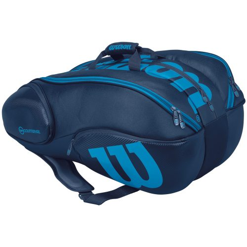 Wilson Ultra 15 Pack Bag Blue/Black: Wilson Tennis Bags