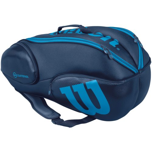 Wilson Ultra 9 Pack Bag Blue/Blue: Wilson Tennis Bags