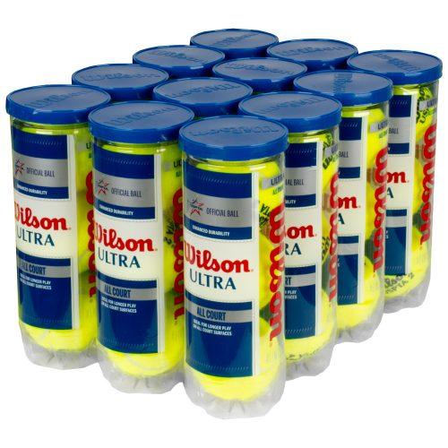 Wilson Ultra USPTA All Court 12 Cans: Wilson Tennis Balls