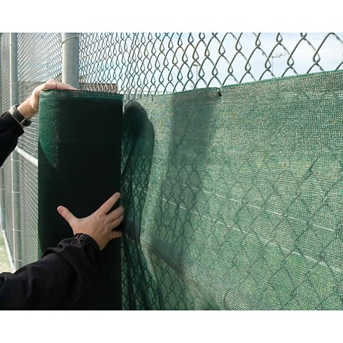 Windscreen 6' X 120': Edwards Court Equipt