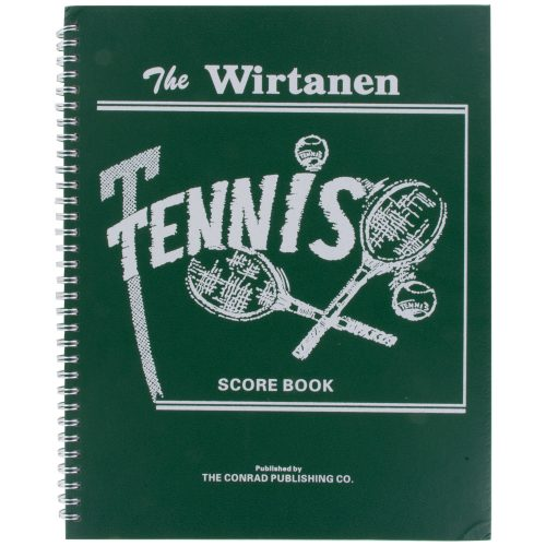 Wirtanen Tennis Scorebook: Edwards Tennis Scorekeepers