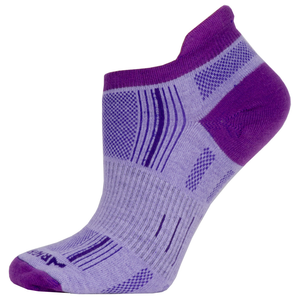WrightSock Double Layer Stride No Show Tab Socks: WRIGHTSOCK Socks
