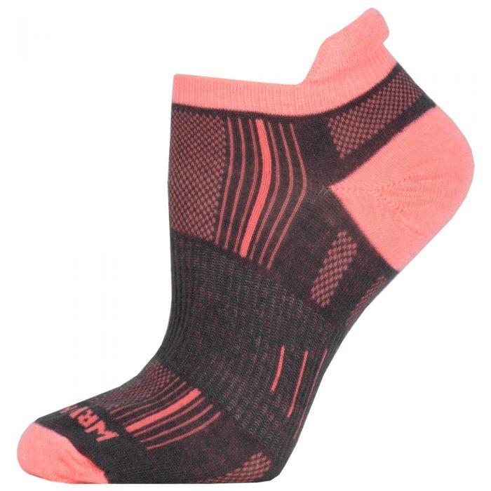WrightSock Double Layer Stride No Show Tab Socks: WRIGHTSOCK Socks