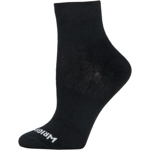 Wrightsock Double Layer Coolmesh II Quarter Socks: WRIGHTSOCK Socks