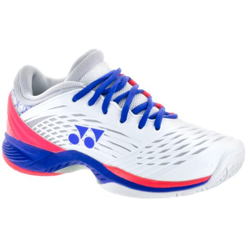 Yonex FusionRev 2 All Court: Yonex Women's Tennis Shoes White/Purple