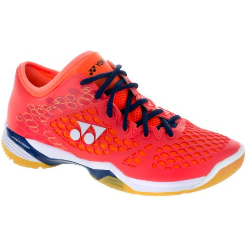 Yonex Power Cushion 03 Z: Yonex Men's Indoor, Squash, Racquetball Shoes Coral Red