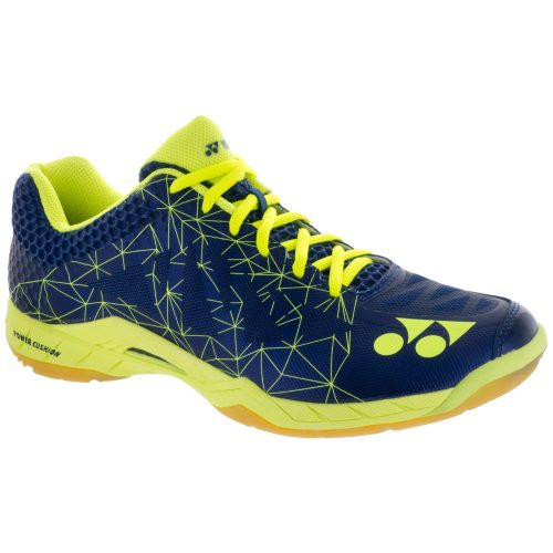 Yonex Power Cushion Aerus 2: Yonex Men's Indoor, Squash, Racquetball Shoes Navy Blue