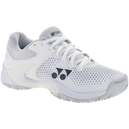 Yonex Power Cushion Eclipsion 2 All Court: Yonex Women's Tennis Shoes White/Silver