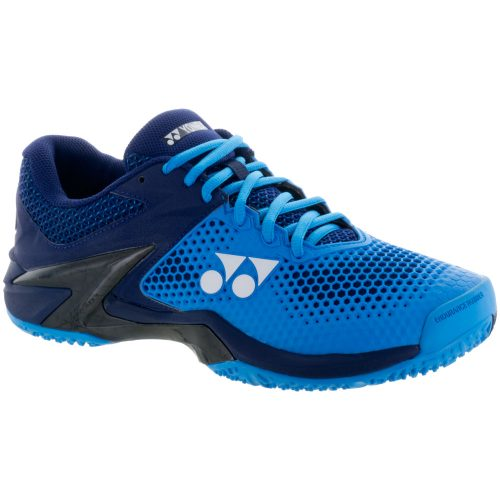 Yonex Power Cushion Eclipsion 2 Clay: Yonex Men's Tennis Shoes Blue/Navy