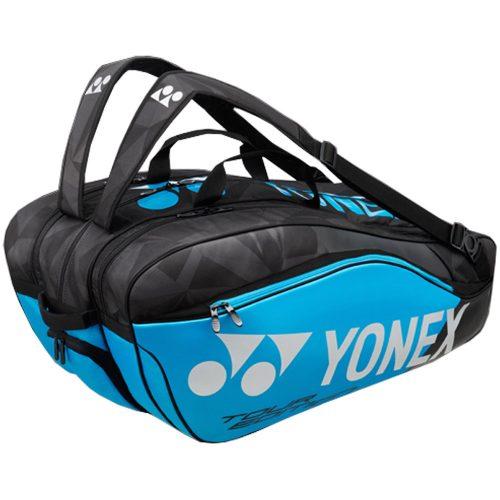 Yonex Pro 9 Pack Racquet Bag Blue: Yonex Tennis Bags