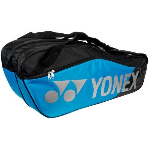 Yonex Pro Replica 6 Pack Racquet Bag Blue: Yonex Tennis Bags
