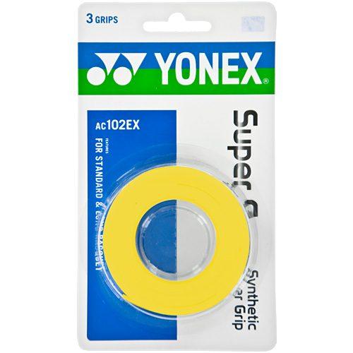 Yonex Super Grap Overgrip 3 Pack: Yonex Tennis Overgrips