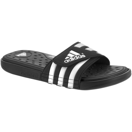 adidas Adissage Supercloud: adidas Men's Sandals & Slides Black/White