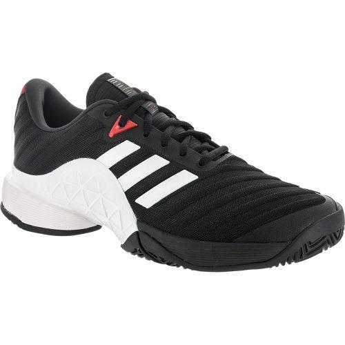 adidas Barricade 2018: adidas Men's Tennis Shoes Core Black/White/Scarlet