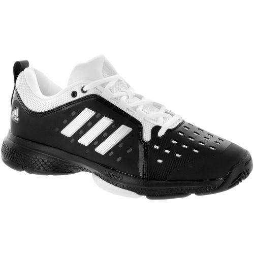adidas Barricade Classic Bounce: adidas Men's Tennis Shoes Core Black/Silver/EQT Yellow