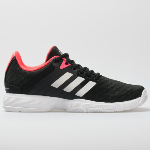 adidas Barricade Court: adidas Women's Tennis Shoes Black/Matte Silver/Flash Red