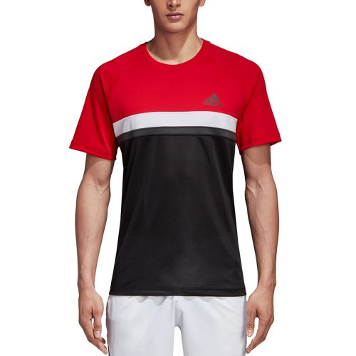 adidas Club Color Block Tee: adidas Men's Tennis Apparel