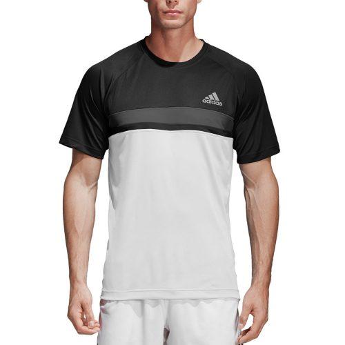 adidas Club Color Block Tee: adidas Men's Tennis Apparel
