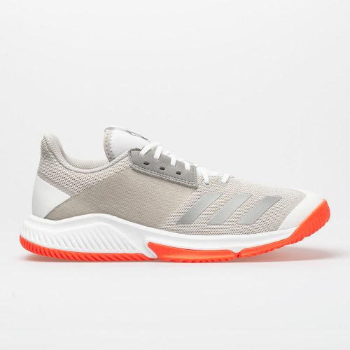 adidas Crazyflight Team 2: adidas Women's Indoor, Squash, Racquetball Shoes White/Silver/Grey
