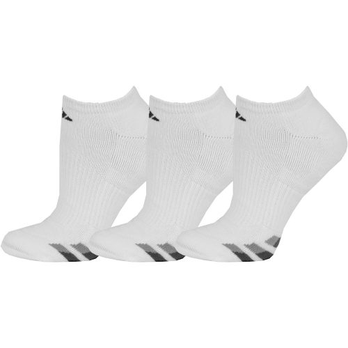 adidas Cushioned No Show Socks 3 Pack: adidas Men's Socks