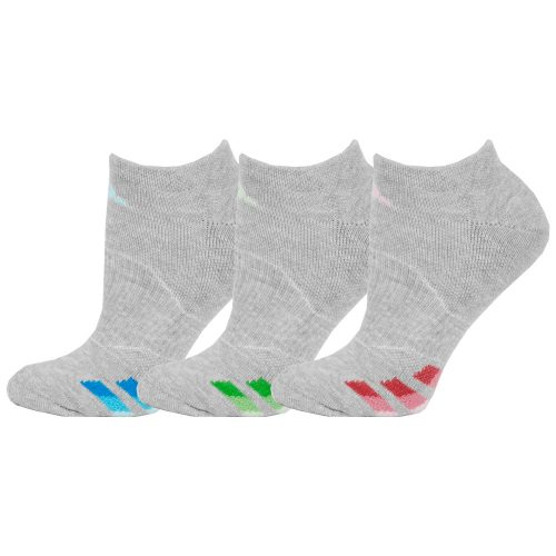 adidas Cushioned No Show Socks 3 Pack: adidas Women's Socks