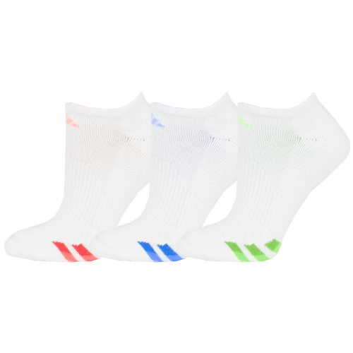 adidas Cushioned No Show Socks 3 Pack: adidas Women's Socks