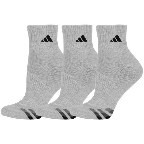 adidas Cushioned Quarter Socks 3 Pack: adidas Men's Socks