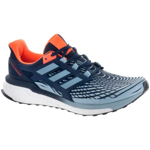 adidas Energy Boost: adidas Men's Running Shoes Collegiate Navy/Ash Grey/Solar Orange