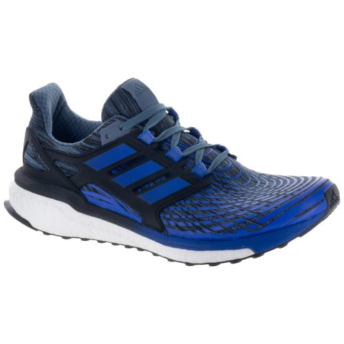adidas Energy Boost: adidas Men's Running Shoes Raw Steel/Hi-Res Blue/Core Black