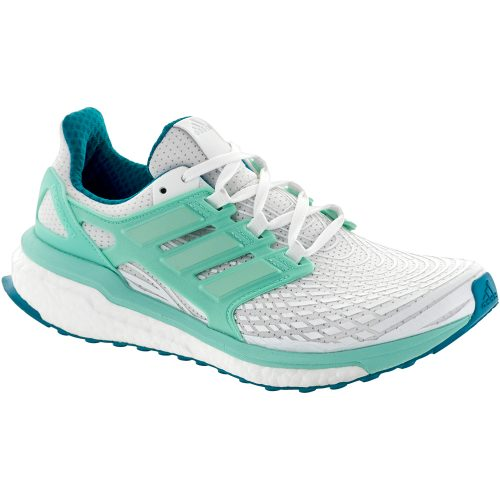 adidas Energy Boost: adidas Women's Running Shoes FTWR White/Energy Aqua/Mystery Petrol