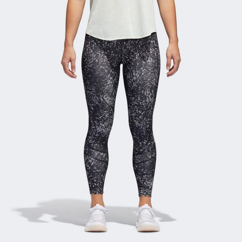 adidas How We Do It Printed Tight: adidas Women's Running Apparel Spring 2018