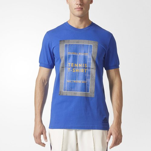 adidas Pharrell Williams NY Graphic Tee: adidas Men's Tennis Apparel