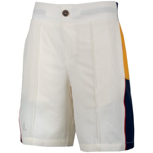 adidas Pharrell Williams NY Striped Shorts Boy's: adidas Junior Tennis Apparel
