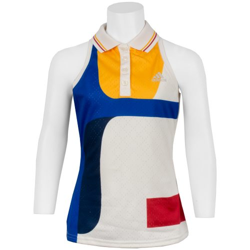 adidas Pharrell Williams NY Tank Girl's: adidas Junior Tennis Apparel