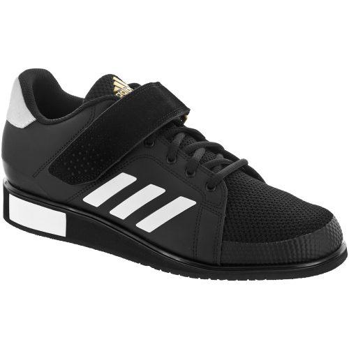 adidas Power Perfect III: adidas Men's Training Shoes Core Black/White/Matt Gold